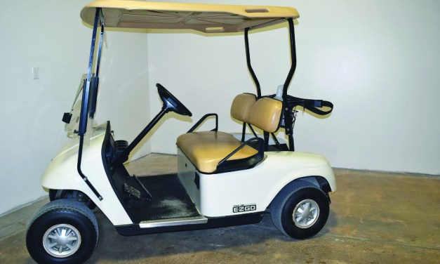 Golf carts enhance golfing experience!