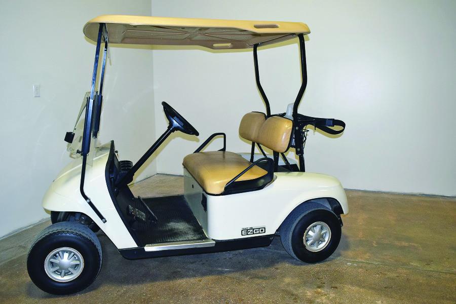 Golf carts enhance golfing experience!
