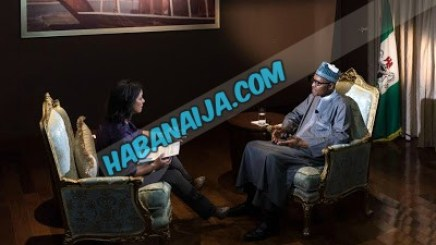 PRESIDENT MUHAMMADU BUHARI IN AN INTERVIEW WITH AJ-JAZEEERA MARTINE DENNIS