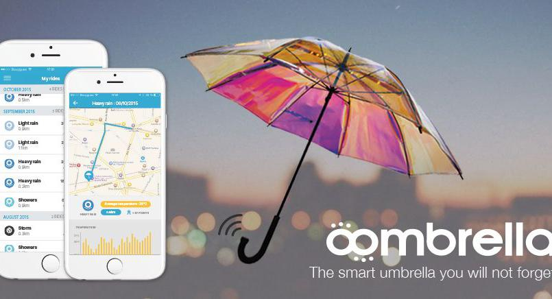 SMART UMBRELLA THAT PREDICTS RAINFALL AHEAD OF TIME