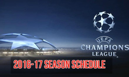 UEFA Champions League 2016-17 Schedule And Groups
