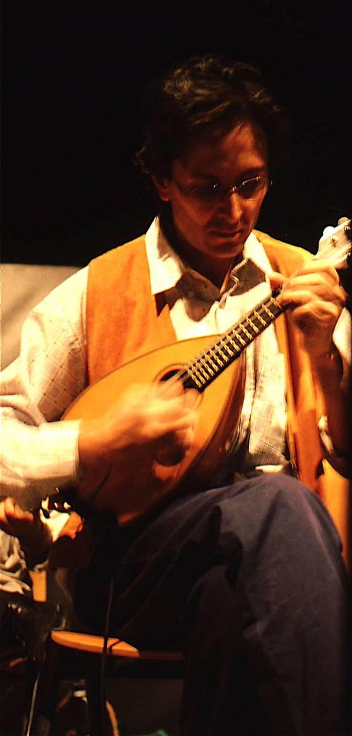 La paranza di Marcello Colasurdo - il mandolinista Ferdinando Piscopo - 1999
