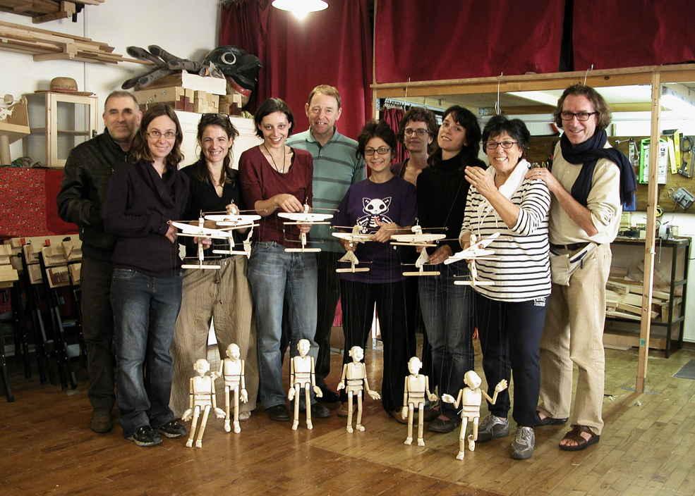 Corso sulla costruzione della marionetta Mottram