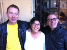 Stephen Mottram, Patrizia Ascione, Damiano Privitera