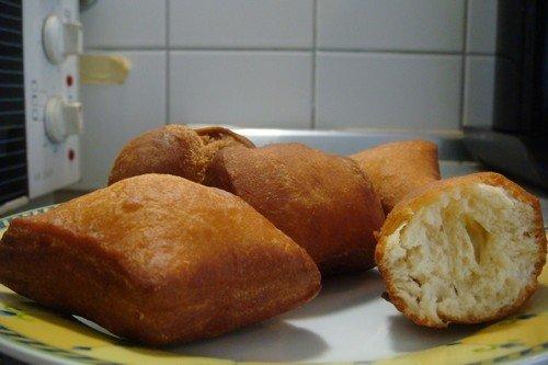 Half cake mandazi