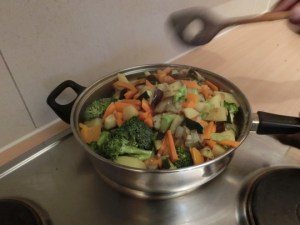 Abdoulie's Vegetable Mix: Frying