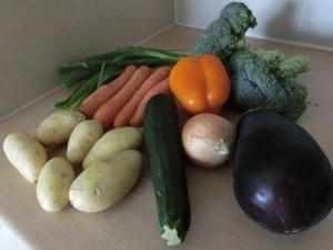 Abdoulie's Vegetable Mix ingredients
