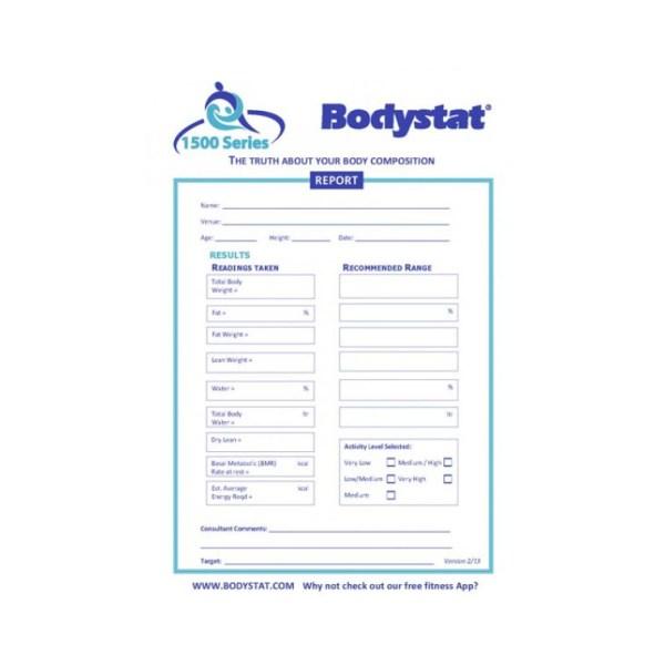 Bodystat Report Pad
