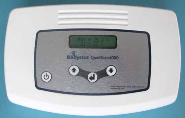 Quadscan 4000 monitor