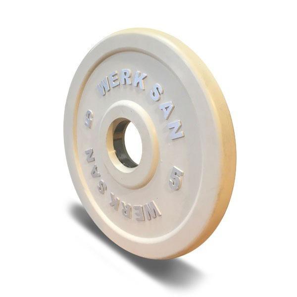 5SCRT01-5kg Coloured Rubber Training Plates