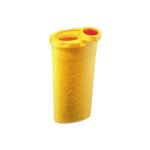 sanisafe waste bottle