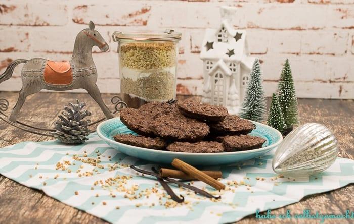 Lebkuchen Cookies - Backmischung