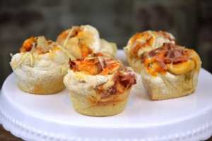 Pizza Schnecken/Muffins