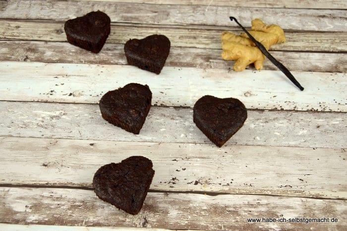 Ayurvedische Schokoladenmuffins