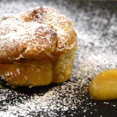 Berliner im Ofen backen mit Apfel Zimt Füllung