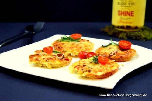 Mini Pizza Low Carb