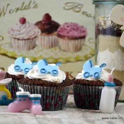 Backmischung für Alles Liebe zur Geburt Muffins