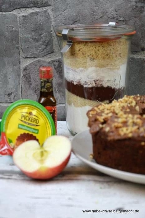 Backmischung für Russischen Apfelkuchen
