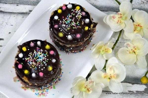 Schokoladenpudding Törtchen