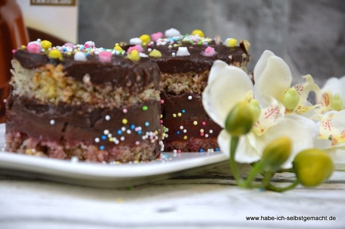 Schokopudding Torte