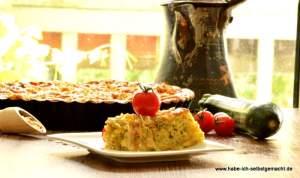 Herzhafter Streuselkuchen