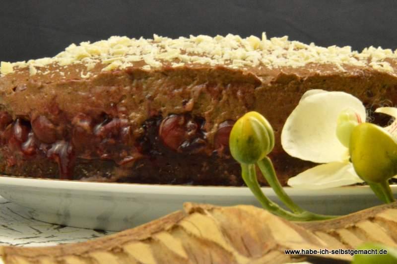Kirsch Haselnuss Torte