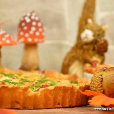 Gorgonzola Parma Zwiebelkuchen Tarte