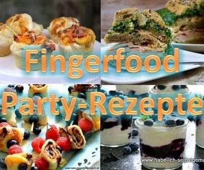 Fingerfood für ein leckeres Party Buffet