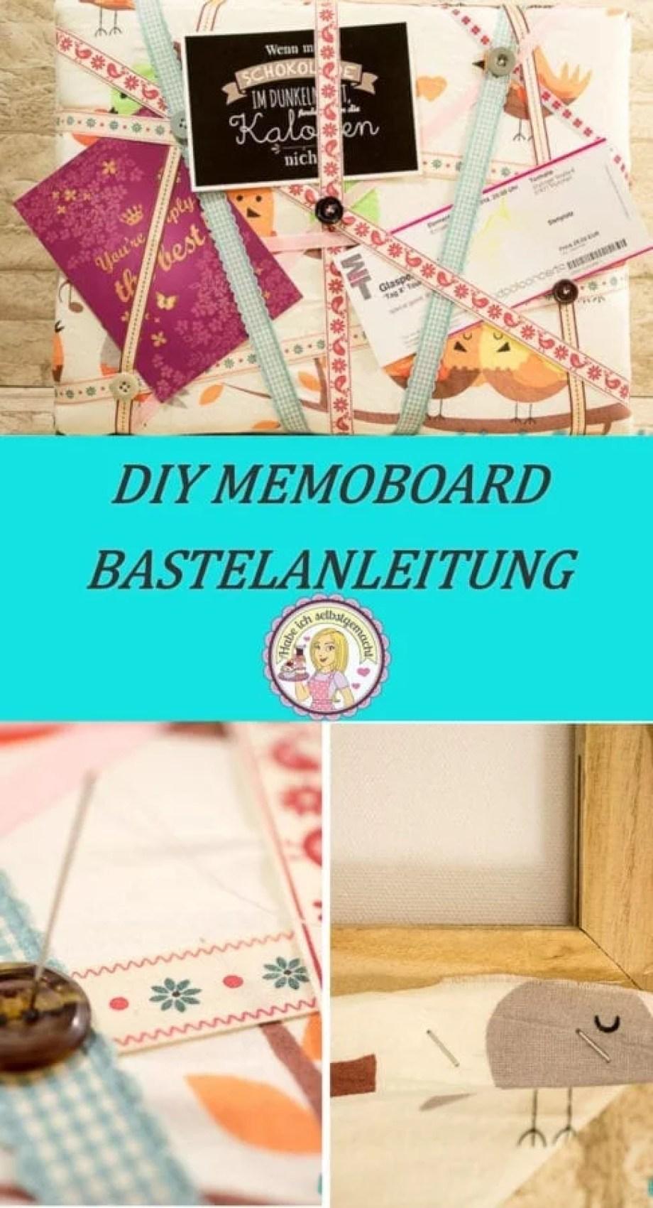 DIY Memoboard basteln