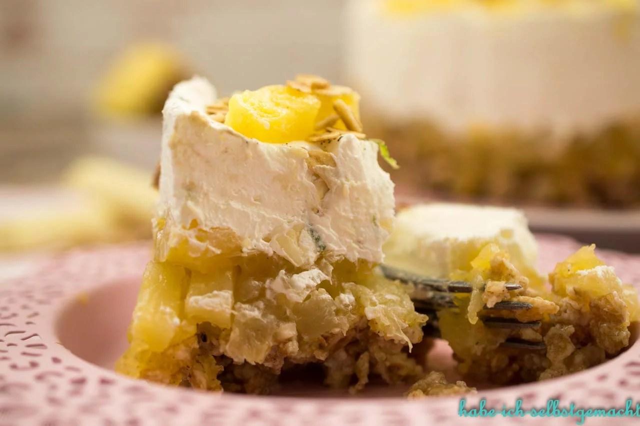 Ananas Limetten Torte