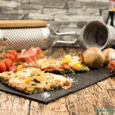 Low Carb Spinatpizza- meine Lieblingspizza