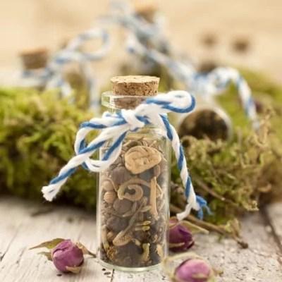 Give Away Blumensamen im Glas