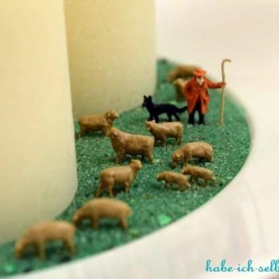 Selbstgemachte Kerzenschale für mehr Gemütlichkeit Zuhause