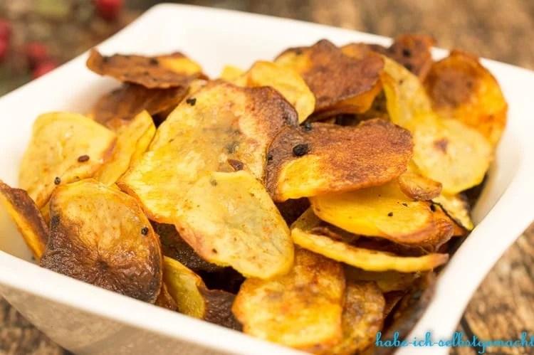 Wie mache ich Chips selber