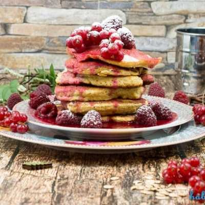 Gesunde Pancakes zum Frühstück