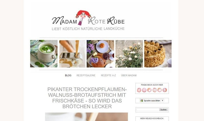 Screenshot Madam Rote Rübe