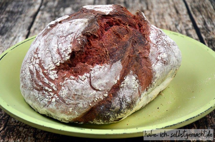 Rezept für Weizen-Rote-Beete-Brot
