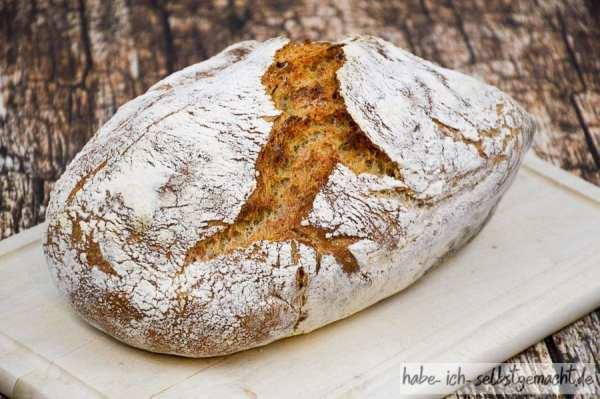 Brot selber backen - Rezept für ein Weizenbrot
