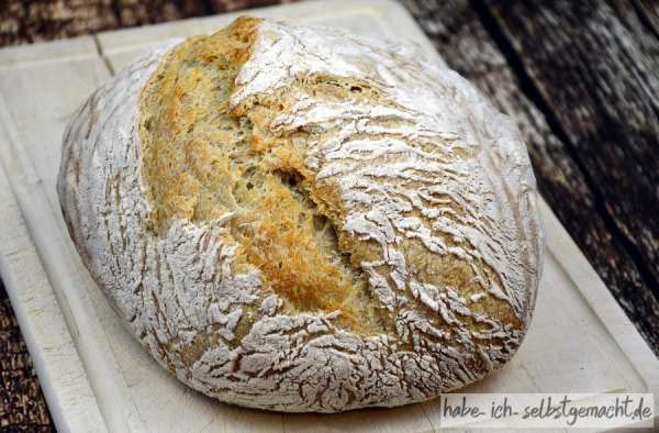 Französisches Boule Brot