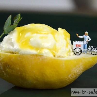 Buttermilch-Zitronen-Eis