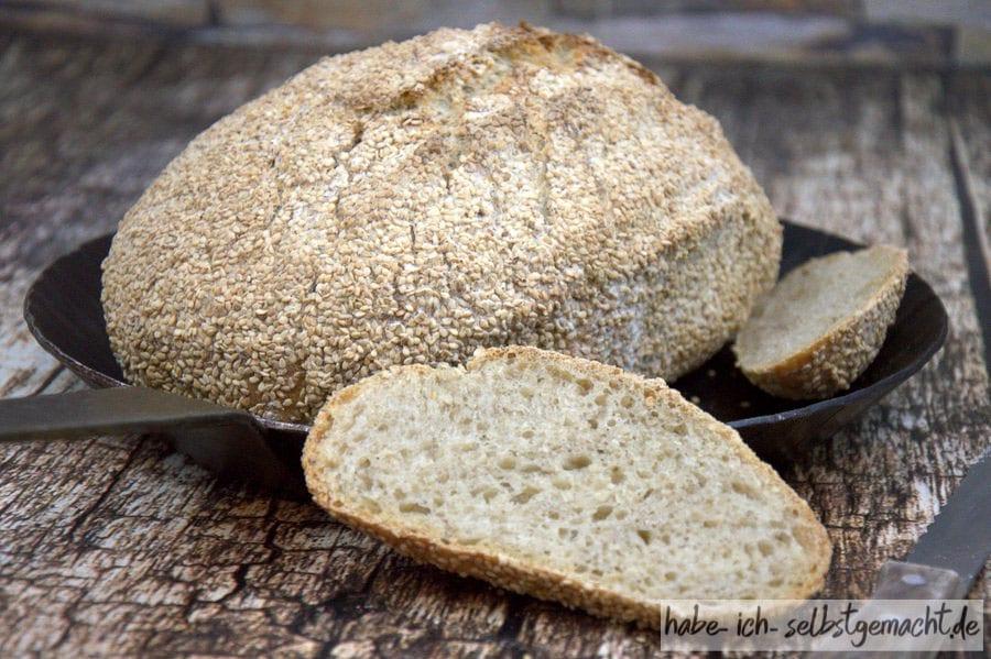 Weizen-Sesam-Brot