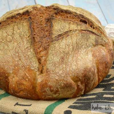 Selbstgemachtes Manitoba Brot - krachende Kruste