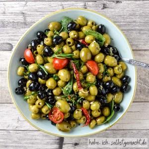 Oliven selber einlegen - Rezept