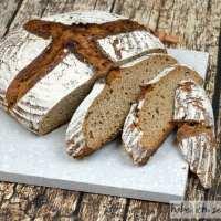 Brot #36 - Dinkel Roggen Krustenbrot ohne Sauerteig