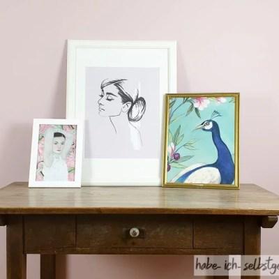 DIY – Bilderwand gestalten mit Postern von Posterlounge