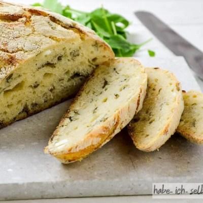Brot #39 – Italienisches Brot mit Rucola und Feta