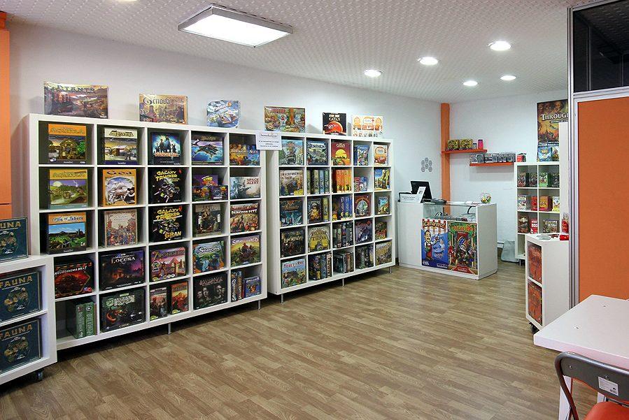 tienda de juegos