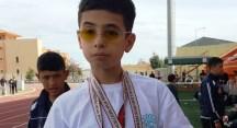 Görme engelli Oğuzhan Sevim küçükler kategorisinde 3 altın madalya aldı