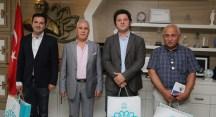 Nilüfer Belediyesi'nin afet hazırlıklarını incelediler