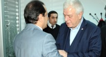Bursaspor yönetiminden Emniyet Müdürü Yıldız'a taziye ziyareti
